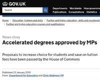 重磅!英国官宣2019年9月起正式推出两年制本科学位