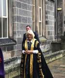 罗撒西公爵夫人为阿伯丁大学校长举行正式就职仪式