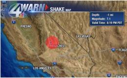 7.1級!加州遭遇20年來最強地震,地震時如何自救?
