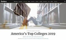 福布斯2019全美最佳大学榜单发布!留学投入产出比哪家强?