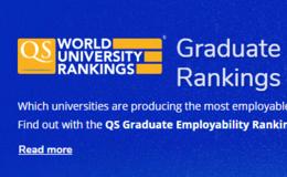刚刚,2020QS世界大学就业力排名公布!清华超剑桥升至第六!
