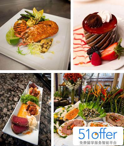 包括受热捧的海鲜,肋排和龙虾