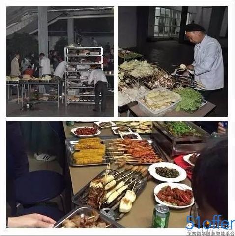 上海同济大学首开大排档对抗黑暗料理烧烤小龙虾