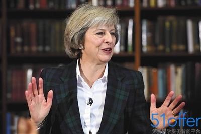 """特雷莎·梅""""梅姨""""成为英国历史上第二位女首相"""